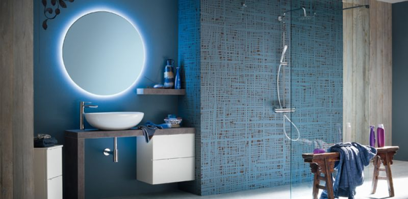 Best Bagno Moderno Colorato Contemporary - Brentwoodseasidecabins ...